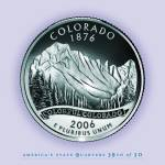 """Colorado_portrait coin_38"" by Quarterama"