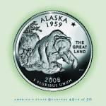 """Alaska_portrait coin_49"" by Quarterama"