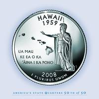 Hawaii_portrait coin_50