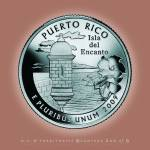 """Puerto Rico_portrait coin_52"" by Quarterama"