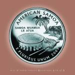 """American Samoa_portrait coin_54"" by Quarterama"