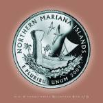 """Northern Mariana Islands_portrait coin_56"" by Quarterama"