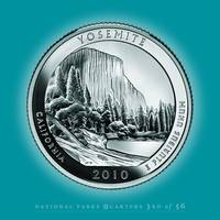 Yosemite, California_portrait coin_NP03