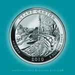 """Grand Canyon, Arizona_portrait coin_NP04"" by Quarterama"