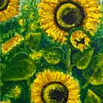 """Sunflowers"" by ShirleyArt"