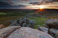 Sunrise in Dartmoor