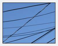 Utility Wires Criss Cross A