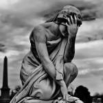 """Statue of Sorrow"" by skullbone76"