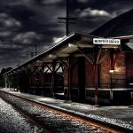 """Haunted Train Station..."" by skullbone76"