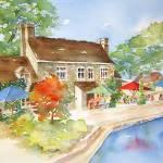 """""""English Cottage"""" by lindahaile"""