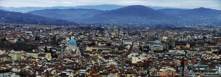 Firenze: The Synagogue from the Duomo