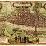 """1560 London map"" by victorianarchive"