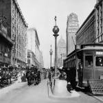 """Market and Powell, Hayes Trolley"" by worldwidearchive"
