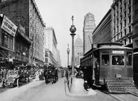 Market and Powell, Hayes Trolley by WorldWide Archive