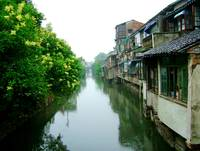 Waterway in Suzhou China