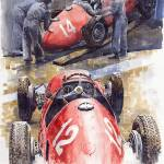 """French GP 1952 Ferrari 500 F2"" by shevchukart"