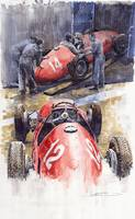 French GP 1952 Ferrari 500 F2