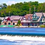 """Boathouse Row - HDR"" by FordLou"