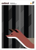 Extinction Series - F (Island Grey Fox)
