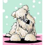"""Springtime Wheaten Terrier"" by KiniArt"