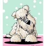 """Springtime Wheaten Terrier"" by KiniArt"