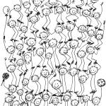 """Foozball tower crowd"" by Thankful"