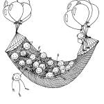 """Foozball floating hammock"" by Thankful"