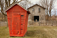Red Corn Crib