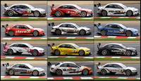 DTM Collage - Brands Hatch 2010 (6400 x 3700)