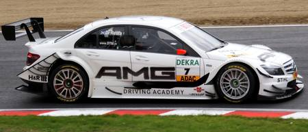 DTM - Paul Di Resta - AMG Mercedes - Brands Hatch