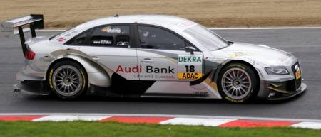 DTM - Miguel Molina - Audi Bank A4 - Brands Hatch