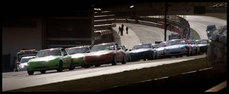 Mazda MX5 Brands Hatch