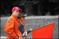 Marshals at the Goodwood Festival of Speed