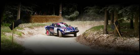 Lancia Stratos Rally Stage at Goodwood