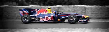 RedBull Formula 1 F1 at Goodwood 2010