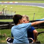 """Kids at Brands Hatch Race Circuit, England"" by oliverpohlmann"