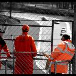 """Race Marshals at Brands Hatch"" by oliverpohlmann"