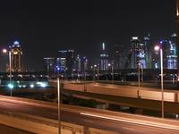 Dubai UAE - Palm Jumeirah - Skyline at Night