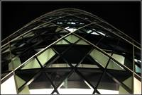The Gherkin at Night, London