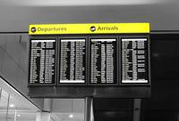 Departures and Arrivals Board