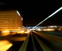 Gatwick Airport Monorail Motion Zoom