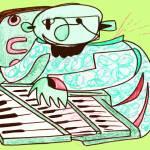 """""""The Jazz Organist"""" by Polylerus"""