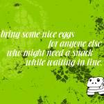 """Bring Nice Eggs"" by thejjj"