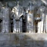 """Reformation Wall, Geneva, Switzerland"" by inphoto"