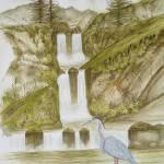 """""""Heron Falls"""" by Karlos"""