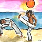"""Capoeira Sunset"" by ChristinaO"