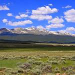 """Sawatch Mountain Range, CO"" by Davidhoyle"