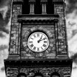 """Jim Thorpe Pa, Town Clock"" by kjb"