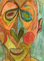 mask 4, inspired by the Metropolitan Museum of Art