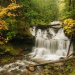 """""""Wagner Falls"""" by MGPPhotography"""